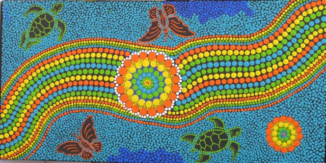 The Historical And Innovative Aboriginal Dot Art In Australia